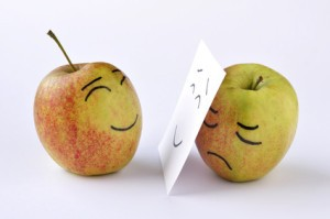 apple sadness